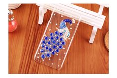 Diamond cover, crystal cute, high fashion, 4.7 inch, Swarovski case, peacock pattern