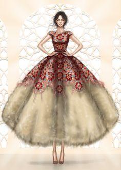Rami Kadi Gown  www.rami-kadi.com