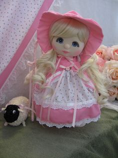 OOAK Mattel My Child Doll Little Bo Peep   Version 1 by jesska80, via Flickr