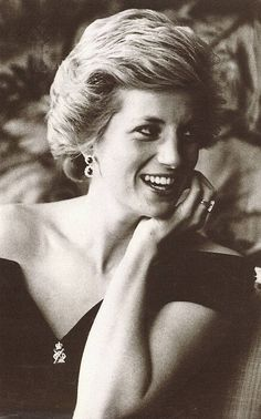 Diana wearing Royal Hussers pin | by the Waxbitch®