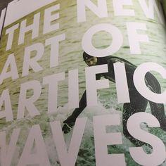 Spine magazine report on Artwave. Must read! #artwavesurf #spinemagazine