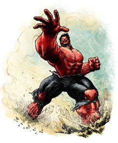infinity-comics:   Red Hulk | Elena Casagrande
