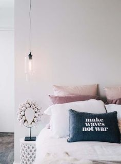 Make waves not war. #bedroom
