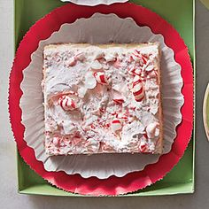 Peppermint Divinity Bars | MyRecipes.com