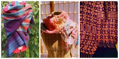 Reader's Gallery: Reflecting on Life during Lockdown Loom Weaving, Hand Weaving, Importance Of Art, Coping With Stress, Woven Scarves, Moon Design, Light In The Dark, The Balm, Reflection