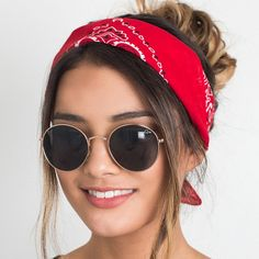 Hair Accessories For Women Fashion Bandana Scarf Square Scarf Female Bandanas Headbands For Women Accessoires Cheveux Femme Thick Headbands, Headbands For Women, Bandana Headbands, Head Bandana, Headband Styles, Scarf Styles, Gossip Girl Serie, Hair Accessories For Women, Headband Hairstyles