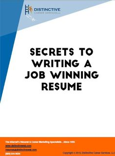 Want to know the secrets of getting hired? The first step to that is by making a resume that has an award winning content. Read on for some tips on how you can do that.