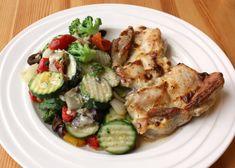 Inšpirácia na jednoduchý, relatívne rýchly, chutný a celkom zdravý obed. Moja najobľúbenejšia úprava kuracieho mäsa a v podstate aj zeleniny, nakoľko milujem jednoduchosť