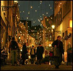 Christmastime in Zurich, Switzerland.