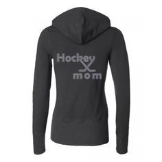 $48 Rhinestone Hockey Mom Slim Fit Hoodie Available in 4 Colors, Sizes Small - 2XL#ahockeymomreviews  #hockeymom Hockey Mom, Hockey Stuff, Slim Fit Hoodie, Mom Style, Go Shopping, Hoodies, Sweatshirts, Sweaters, Colors