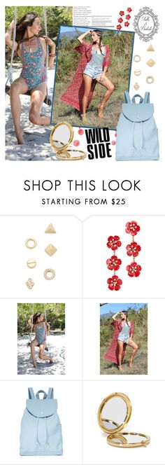 """""""Tulle and Batiste"""" by gaby-mil ❤ liked on Polyvore featuring Shashi, Jennifer Behr, BAGGU, Odeme and vintage"""