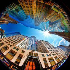 Fifth Avenue by Stan W #photo #photography #fisheye