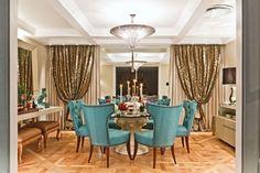 Conheça 21 Modelos de Salas de jantar decoradas que servem como inspiração para você decorar o seu ambiente, você vai se apaixonar.
