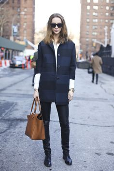 CITIZEN CHIC: Alana @ NYFW F/W 13 Part II