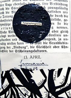 mano kellner, daily project 2016, a collage a day, gustavs agenda, 12.-15.4 (detail)