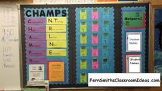 Easily using a CHAMPS behavior program for Small Groups!
