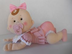 Fofucha Luna y Leila - Patrones gratis Baby Shawer, Felt Baby, Baby Shower Themes, Baby Boy Shower, Shower Bebe, Boho Baby, Felt Toys, Soft Dolls, Felt Ornaments