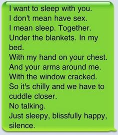Cute Text Messages - I Want To Sleep with You❤ #Relationships #Goals #Love