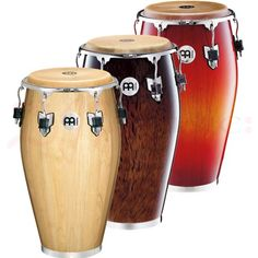 Meinl Professional Series Conga Drums - The Roland Meinl Professional Series Congas - one of the finest instruments in the MEINL Percussion program and the preferred conga model by many top congueros.