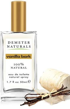 Vanilla Bark Demeter Fragrance perfume - a fragrance for women and men. I must try this.. vanilla + woodsy + spice = <3