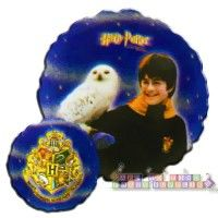 "Harry Potter ""Sorcerer's Stone"" Double Sided Foil Mylar Balloon  http://hardtofindpartysupplies.com/Harry-Potter-Birthday-Party-Supplies/Harry-Potter-Sorcerers-Stone-Double-Sided-Foil-Mylar-Balloon-round-helium-decorations"