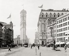 Times Square, New York, c1908, Vintage Photo