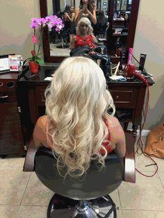 Blonde, Irish creme hair by Nihal!