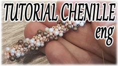 Chenille rope Tutorial - How to make a Chenille rope with drops - Beadin...