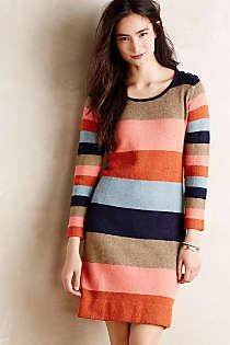 Anthropologie - Colorstack Sweater Dress