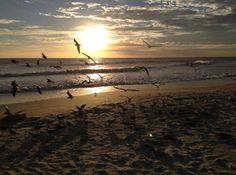 Sunrise at Cocoa Beach FLORIDA