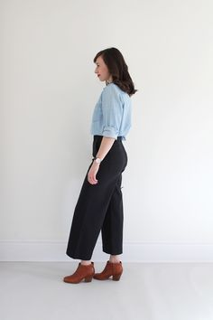 Style Bee - Everlane Wide Leg Crop Pant