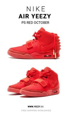 29c3b01f5ff75 New Nike Air Yeezy PS Red October shoes online
