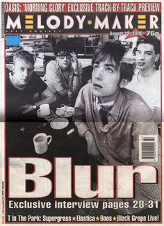 Blur Foo Fighters, Radiohead, Bon Jovi, Blur Band, Saturday Morning Cartoons 90s, Rock Y Metal, Damon Albarn, 80 Cartoons, Britpop