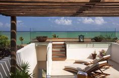 Oceanview Suite Rooftop Terrace at Rosewood Mayakoba in Mexico