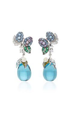 Blueberry Drop Earrings | Moda Operandi