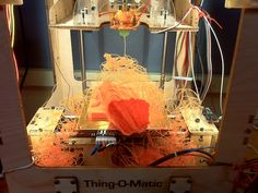 MakerBot Failed 3D Print (www.fakerbots.com)