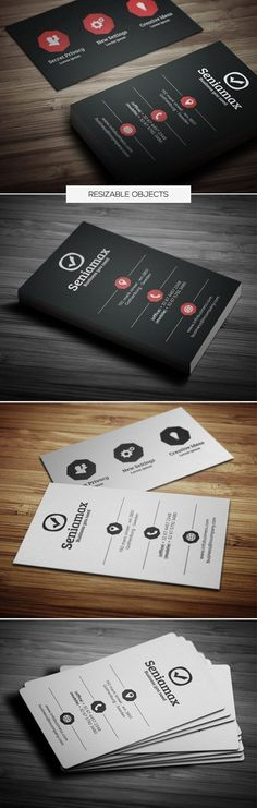 Buy Creative Business Card 052 by samturn on GraphicRiver. A great Business card template for your business company. This card Template is perfect for programmers, IT company,. Business Card Maker, Unique Business Cards, Business Card Logo, Creative Business, Corporate Business, Creative Hub, Professional Business Card Design, Business Design, Business Company
