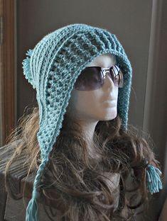 Crochet Pattern- Tallulah Tassel Hood Pattern..