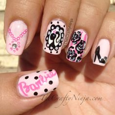 Barbie Nails!!