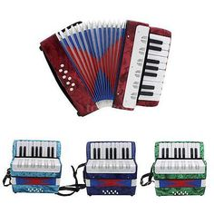 Mini Small 17-Key 8 Bass Accordion Educational Musical Instrument Toy A9N1 - http://musical-instruments.goshoppins.com/accordion-concertina/mini-small-17-key-8-bass-accordion-educational-musical-instrument-toy-a9n1/
