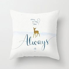 You will love this precious pillow for many years to come. | Community Post: 23 Things You Need For A Magical Harry Potter Dorm Room