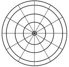Design a clock, template.