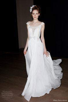 OMG, love this!!! mira zwillinger bridal 2014 ashley wedding dress