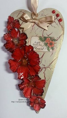 A gift from the heart by sandra35 - Cards and Paper Crafts at Splitcoaststampers