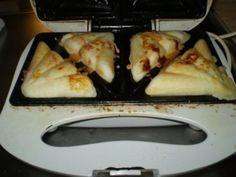 Receita Pão de queijo de sanduicheira