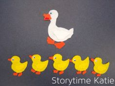Flannel Friday: Five Little Ducks | storytime katie
