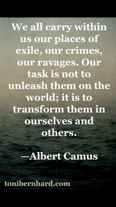 Albert Camus i love. Poetry Quotes, Words Quotes, Wise Words, Me Quotes, Sayings, Albert Camus Quotes, Philosophical Quotes, Philosophy Quotes, Stress