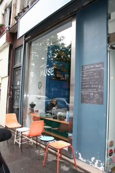 Merce and the Muse, Paris (closed)