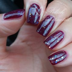 OPI In the cable car-pool lane layered with Alanna Renee Milky way -Polish Infatuated