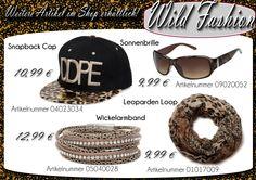 ★ ★ ★ Wild Fashion ✩ ✩ ✩ Nicht nur Schlangenprints sind ein cooler Hingucker bei eurem Outfit, auch mit Accessoires im Leo Look macht ihr eine tolle Figur.  https://www.stylebreaker.de/